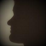 Schatten Frau Profil Gesicht